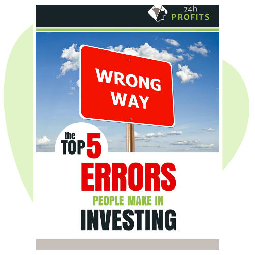 The Top 5 Errors People make in Investing