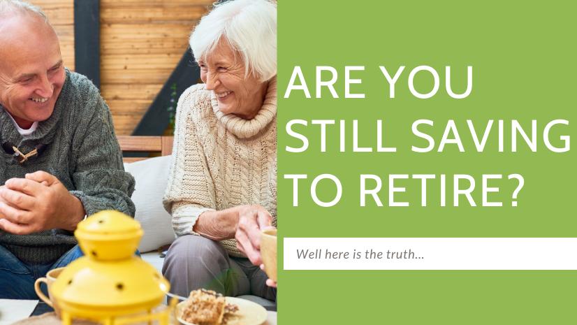 Are you still saving to retire? - Juergen Pallien - retirement -stock market investor