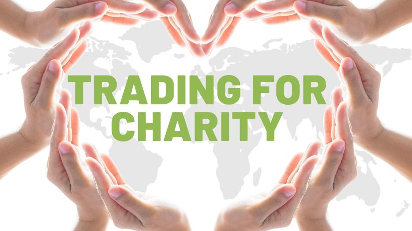 Trading for Charity - donate money - Juergen Pallien - retirement -stock market investor